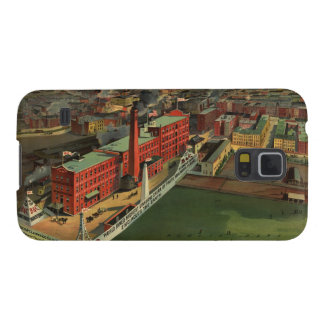 Vintage Pictorial map of Boston (1902) Case For Galaxy S5