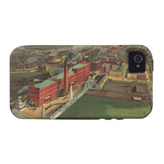 Vintage Pictorial map of Boston (1902) Vibe iPhone 4 Cases