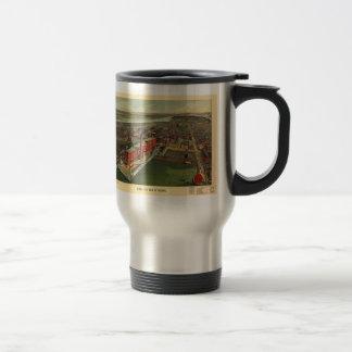 Vintage Pictorial map of Boston (1902) 15 Oz Stainless Steel Travel Mug