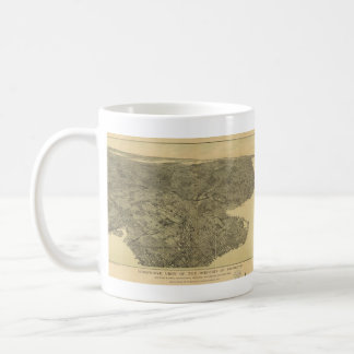 Vintage Pictorial Map of Brooklyn NY (1897) Classic White Coffee Mug