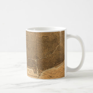 Vintage Pictorial Map of Chicago (1892) Coffee Mug