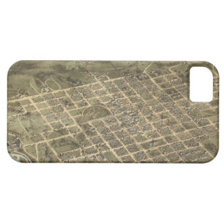Vintage Pictorial Map of Columbia SC 1872 iPhone 5 Cover