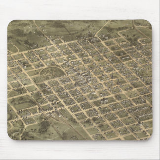 Vintage Pictorial Map of Columbia SC (1872) Mousepads