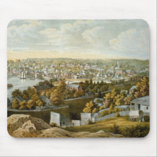 Vintage Pictorial Map of Georgetown (1855) Mouse Pad