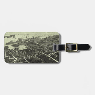 Vintage Pictorial Map of Hyannis MA (1884) Luggage Tag