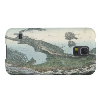 Vintage Pictorial Map of Italy (1853) Galaxy S5 Cover