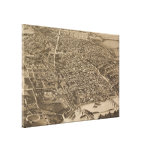 Vintage Pictorial Map of Knoxville (1886) Stretched Canvas Prints