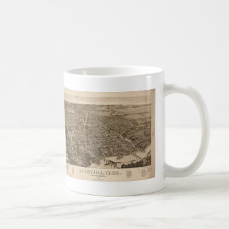Vintage Pictorial Map of Knoxville (1886) Coffee Mug