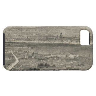 Vintage Pictorial Map of London England (1861) iPhone 5 Cases