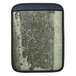 Vintage Pictorial Map of Marblehead MA (1882) iPad Sleeves