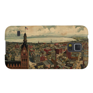 Vintage Pictorial Map of Milwaukee WI (1898) Galaxy S5 Cases