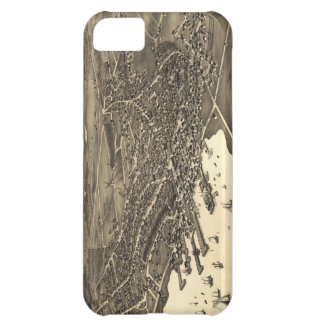 Vintage Pictorial Map of Nantucket (1881) iPhone 5C Cases