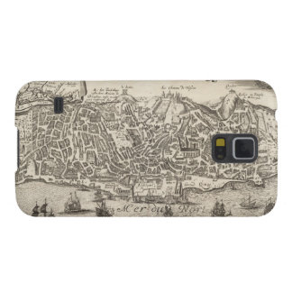 Vintage Pictorial Map of New York City (1672) Galaxy S5 Case