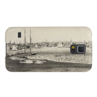 Vintage Pictorial Map of Newport RI (1860) Galaxy S5 Cases