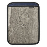 Vintage Pictorial Map of Newton MA (1878) iPad Sleeves