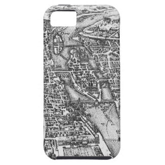 Vintage Pictorial Map of Paris (17th Century) iPhone SE/5/5s Case