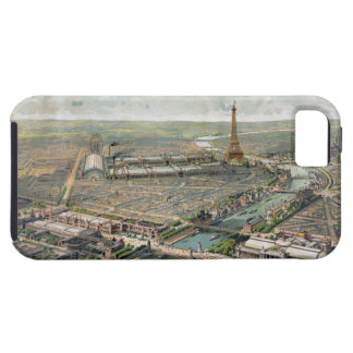 Vintage Pictorial Map of Paris (1900) iPhone SE/5/5s Case