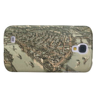 Vintage Pictorial Map of Pittsburgh (1902) Galaxy S4 Cover