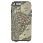 Vintage Pictorial Map of Pittsburgh (1902) Tough iPhone 6 Case