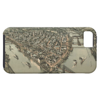 Vintage Pictorial Map of Pittsburgh (1902) iPhone 5 Cover