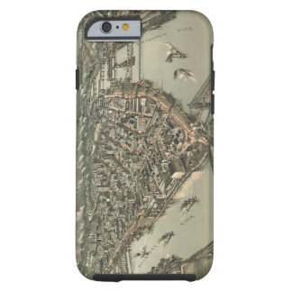 Vintage Pictorial Map of Pittsburgh (1902) iPhone 6 Case