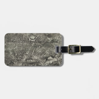 Vintage Pictorial Map of Providence RI (1882) Bag Tag