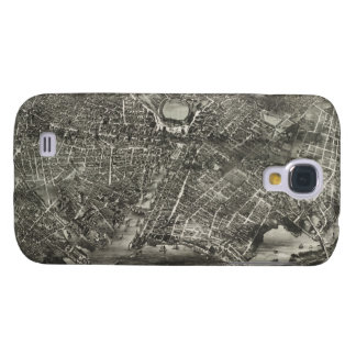 Vintage Pictorial Map of Providence RI (1882) Samsung Galaxy S4 Case