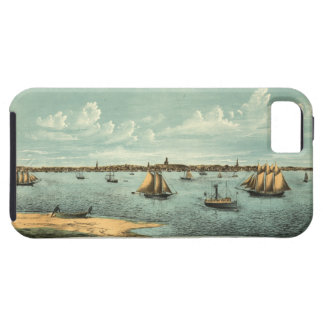 Vintage Pictorial Map of Provincetown (1887) iPhone 5 Cases