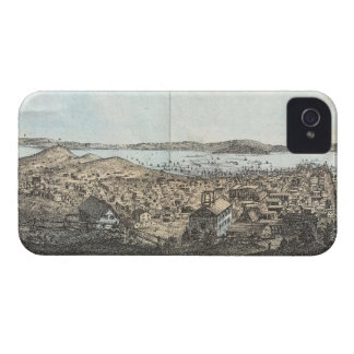Vintage Pictorial Map of San Francisco 1854 iPhone 4 Cases