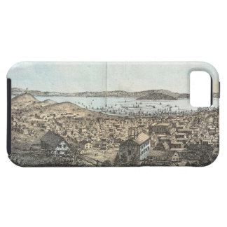 Vintage Pictorial Map of San Francisco 1854 iPhone 5 Covers