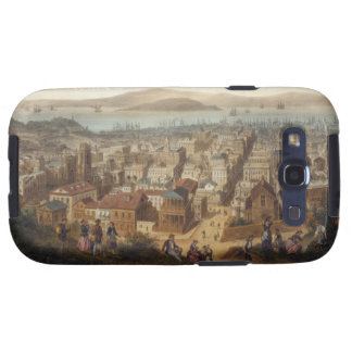 Vintage Pictorial Map of San Francisco 1860 Samsung Galaxy SIII Cover