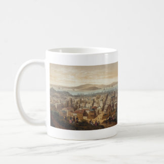 Vintage Pictorial Map of San Francisco (1860) Coffee Mug