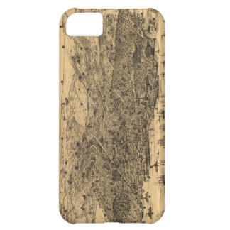 Vintage Pictorial Map of San Francisco 1875 iPhone 5C Cover