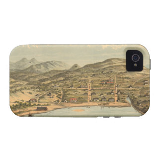 Vintage Pictorial Map of San Francisco 1884 Vibe iPhone 4 Cover