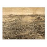 Vintage Pictorial Map of San Jose CA (1869) Postcard