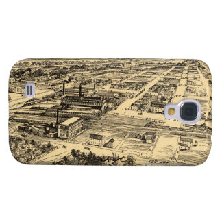 Vintage Pictorial Map of Southern Milwaukee (1906) Galaxy S4 Cover