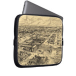 Vintage Pictorial Map of Southern Milwaukee (1906) Laptop Sleeve