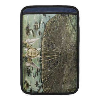 Vintage Pictorial Map of St. Louis (1896) MacBook Sleeve
