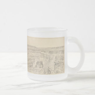 Vintage Pictorial Map of The Grand Canyon (1895) Mugs