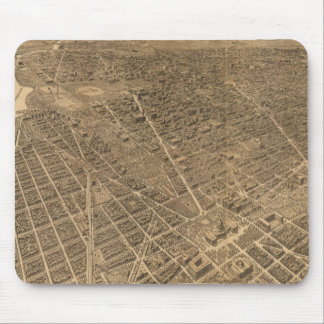 Vintage Pictorial Map of Washington D.C. (1921) Mouse Pad