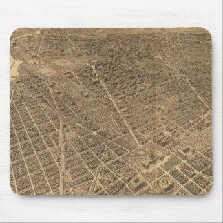 Vintage Pictorial Map of Washington D C 1921 Mouse Pad