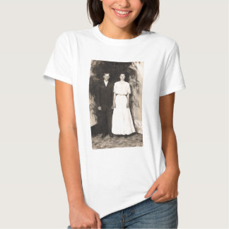 Vintage Picture of a Wedding Couple T-Shirt