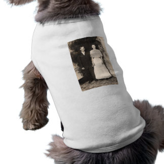 Vintage Picture of a Wedding Couple Tee
