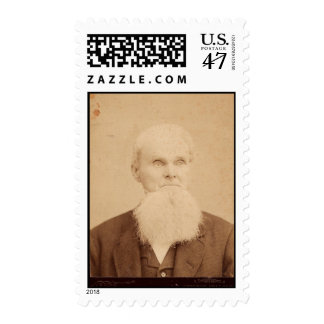 Vintage Picture of an Old Man Postage