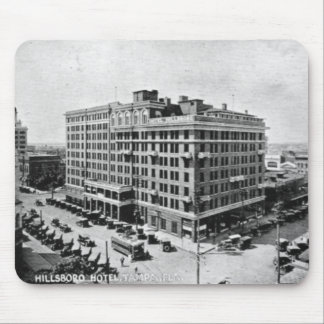 Vintage Pictures of Tampa Florida Mouse Pad