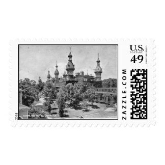 Vintage Pictures of Tampa Florida Stamp