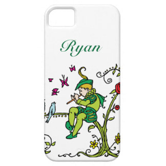 Vintage Pied Piper Personalized iPhone SE/5/5s Case