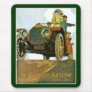 Vintage Pierce-Arrow Advertisement Mouse Pad
