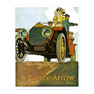 Vintage Pierce-Arrow Advertisement Postcards