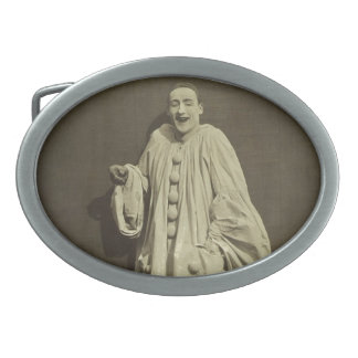 Vintage Pierrot Clown Belt Buckle